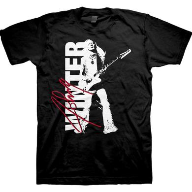 Johnny Winter Signature Photo T-Shirt
