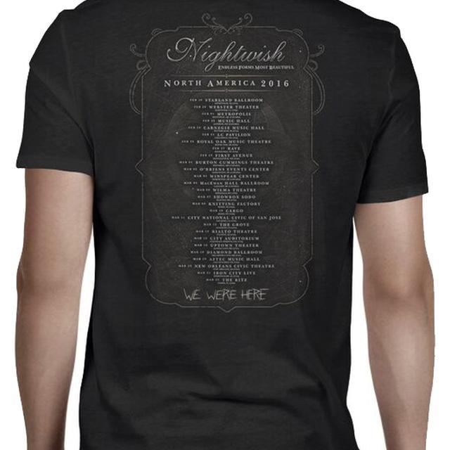 Nightwish Endless Forms Summer Festivals 2016 T-Shirt