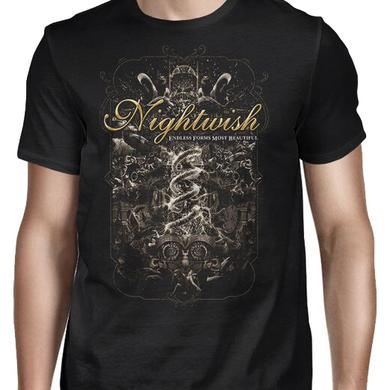 Nightwish Endless Forms Summer Festivals 2016 T-Shirt