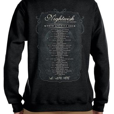 Nightwish Owl 2016 Tour Dates Ladies Zip Hoodie