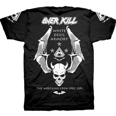 Overkill White Devil Spec Ops T-Shirt