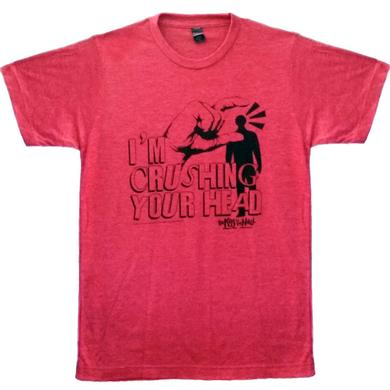 Kids in the Hall Crushing Your Head Red T-Shirt