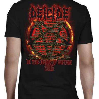 Deicide Name of Satan Date Back T-Shirt