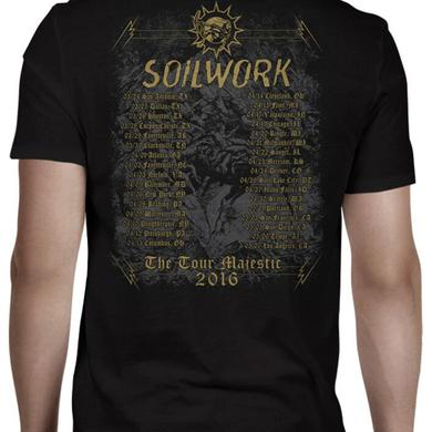 Soilwork Ride Majestic 2016 Date Back T-Shirt