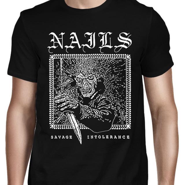 Nails Savage Intolerance T-Shirt