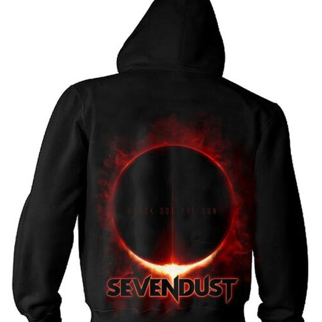 Sevendust Blackout The Sun Zip Hoodie