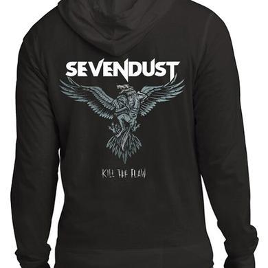 Sevendust Eagle Zip Hoodie