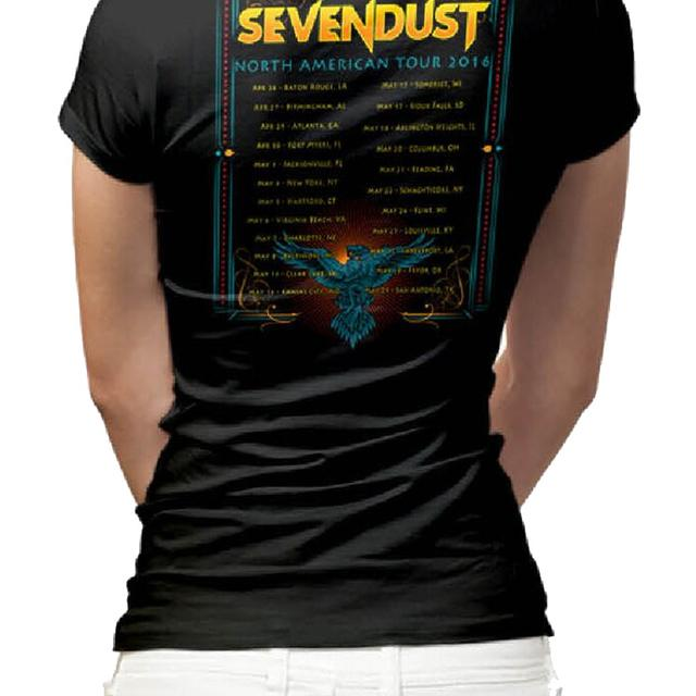 Sevendust Kill The Flaw Tour Ladies T-Shirt