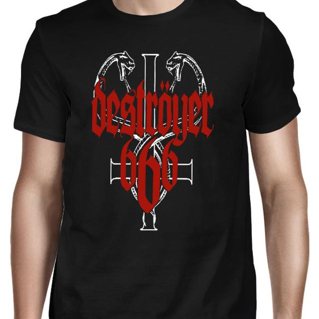 Destroyer 666 Snakes T-Shirt