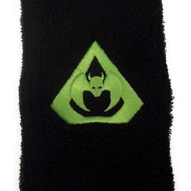 Overkill O Logo In Green Wrist Band