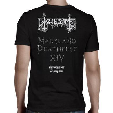 GRUESOME Logo Gravestone MDF T-Shirt