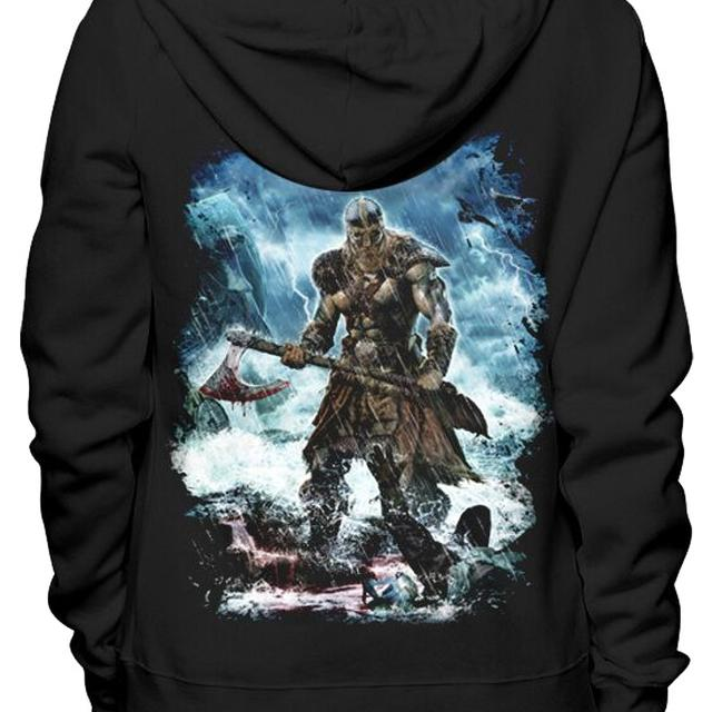 Amon Amarth Jomsviking Zip Hoodie
