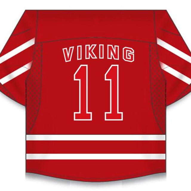 Amon Amarth Big A Viking Hockey Jersey
