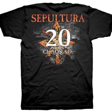 Sepultura 20 Years Chaos A.D. T-Shirt