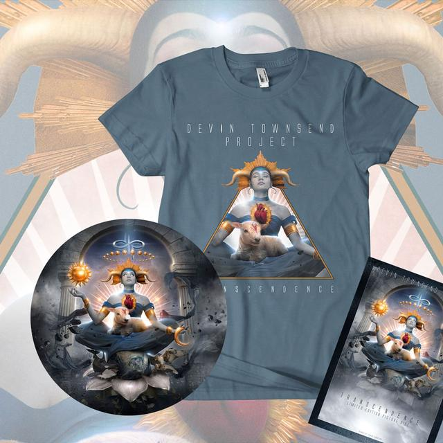 Devin Townsend Project Transcendence Picture Disc & T-Shirt Bundle