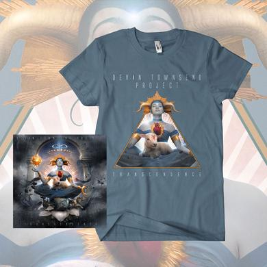 Devin Townsend Project Transcendence Digipack & T-Shirt Bundle