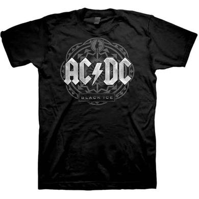AC/DC Black Ice Large & Tall T-shirts
