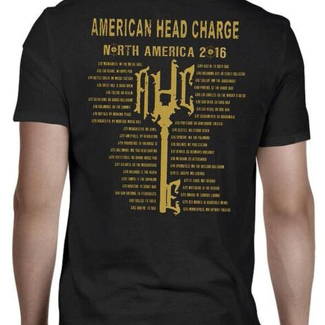 American Head Charge Gas Mask T-Shirt