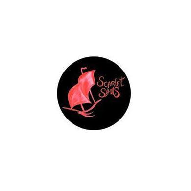 Scarlet Sails Boat Logo Button