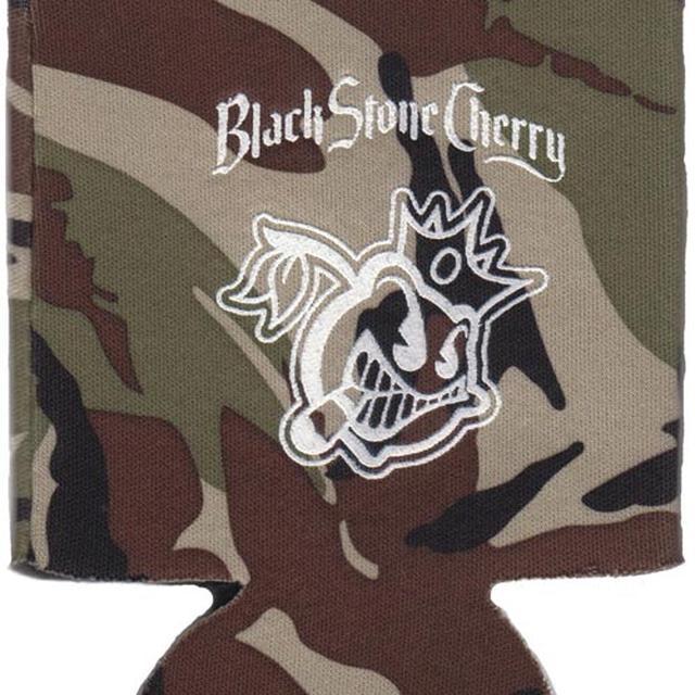 Black Stone Cherry Camo Koozie