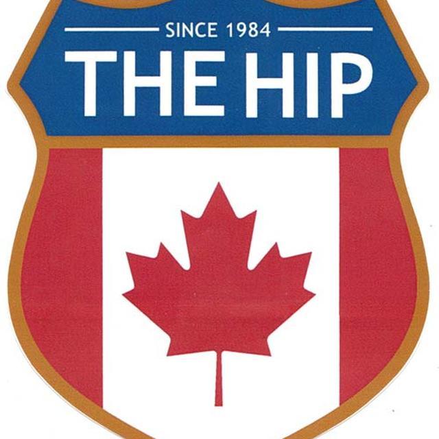 The Tragically Hip Crest Sticker