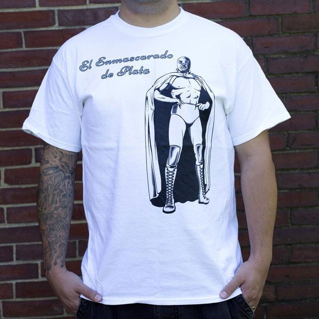 El Hijo del Santo Enascarado de Plata Seal T-Shirt
