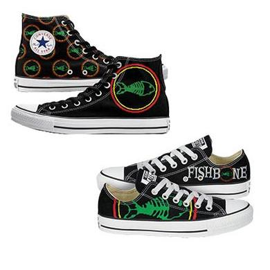 Fishbone Converse Sneakers