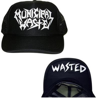 Municipal Waste Logo Wasted Trucker Hat