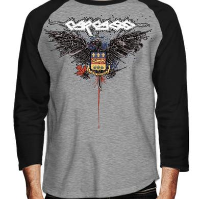 Carcass Eagle One Foot  Canada Tour Raglan