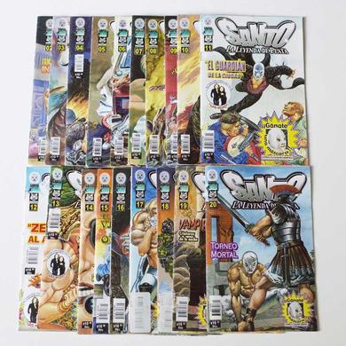 El Hijo del Santo Santo Comic Volume #2-20 Book