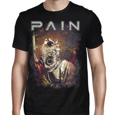 Pain Burlap Man With Wasps T-Shirt