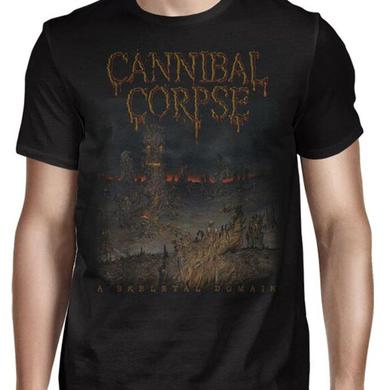 Cannibal Corpse Skeletal Summer Tour 2016 T-Shirt