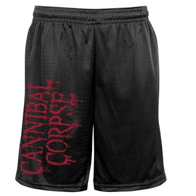 Cannibal Corpse Logo Mesh Gym Shorts