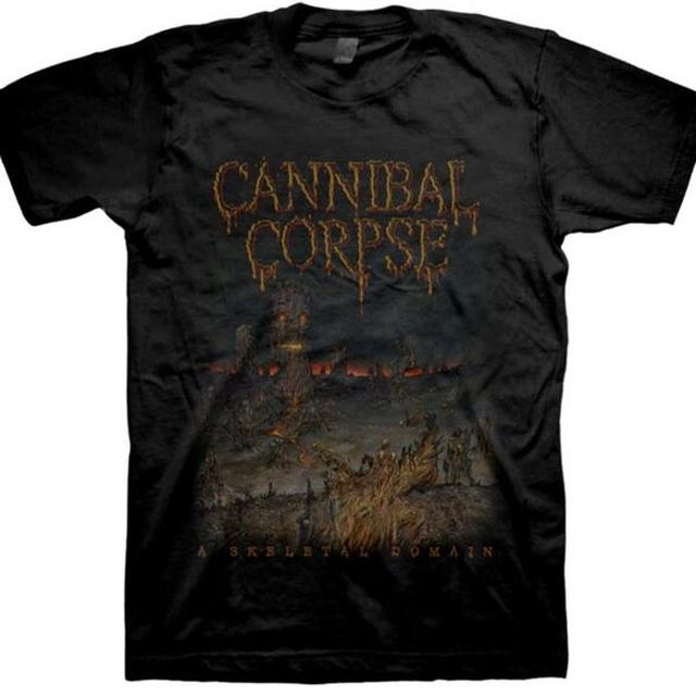 Cannibal Corpse Skeletal Domain Fall 2015 Dates T-Shirt