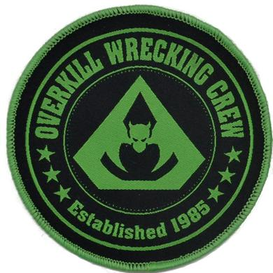 Overkill Wrecking Crew Green Patch