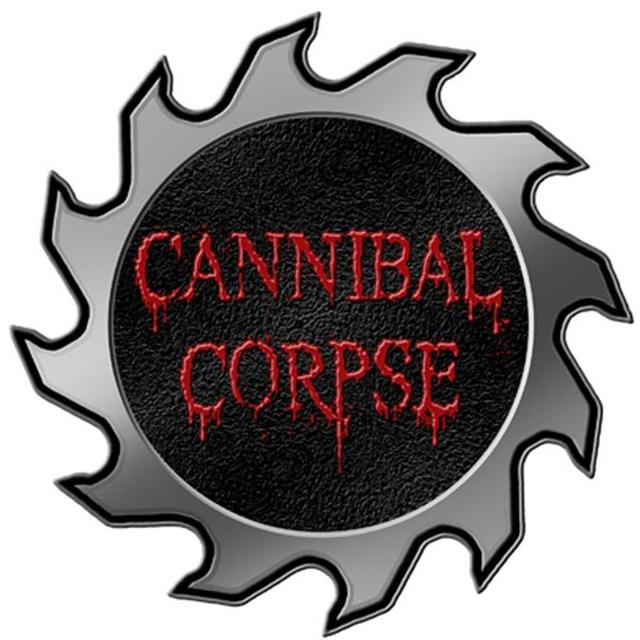 Cannibal Corpse Saw Logo Die Cut Pin