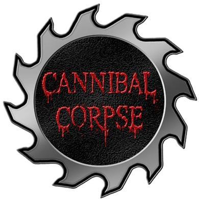 Cannibal Corpse Saw Logo Die Cut Pin