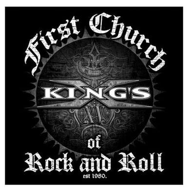 Kings X First Church Sticker