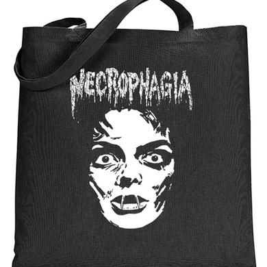 Necrophagia Face Tote Bag