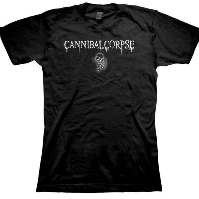 Cannibal Corpse Logo Fetus Babydoll
