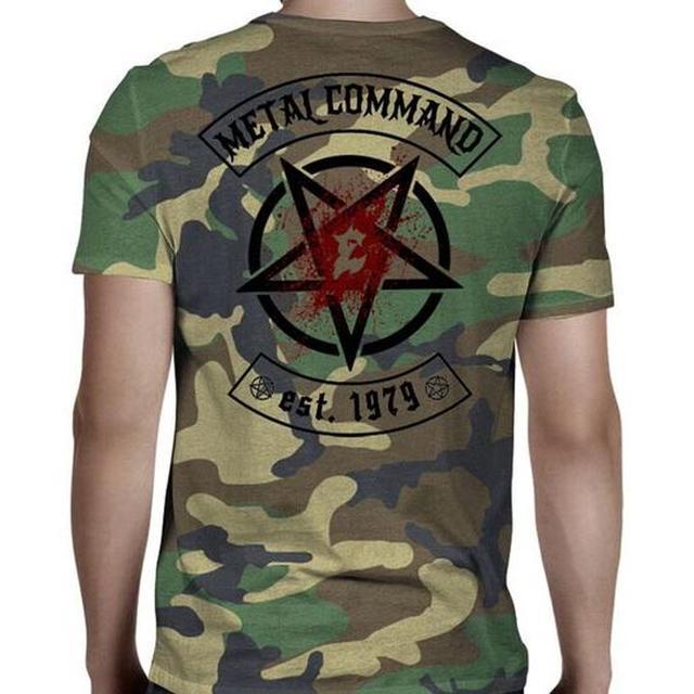 Exodus Metal Command Camo T-Shirt