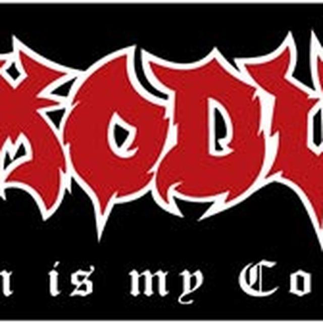 Exodus Satan is My Co-Pilot Sticker