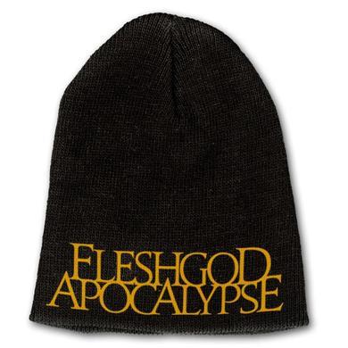 Fleshgod Apocalypse Gold Logo Beanie