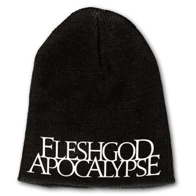 Fleshgod Apocalypse White Logo Beanie