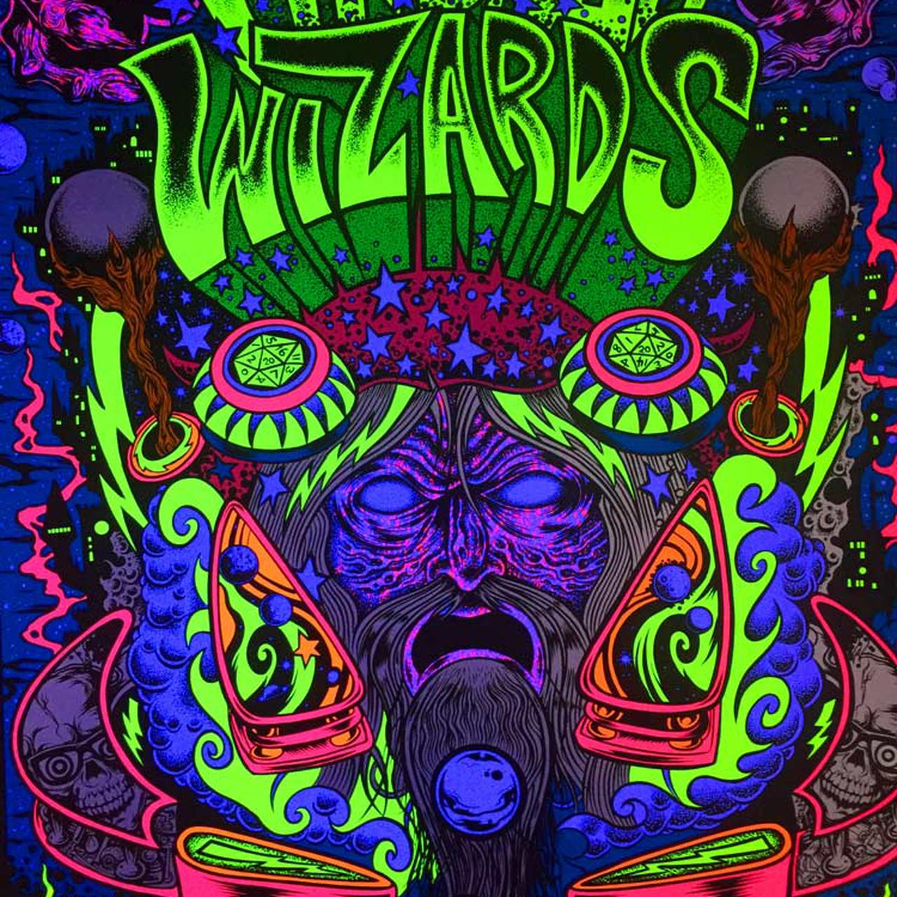 Pinball Wizards And Blacklight Destroyers Poster 4000 Dirty Donny