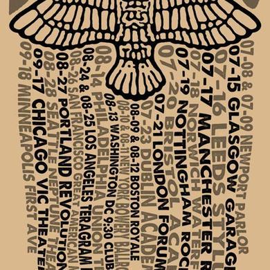 Belly Tour Bird 2016 Tour Poster