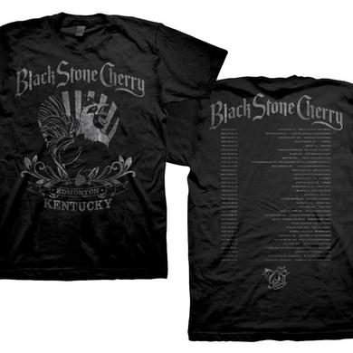 Black Stone Cherry Rooster T-shirt