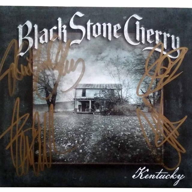 Black Stone Cherry Kentucky Signed CD