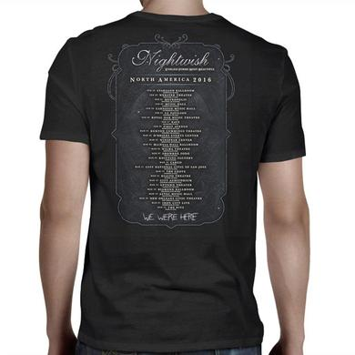 Nightwish Endless Forms North America 2016 Dates T-Shirt