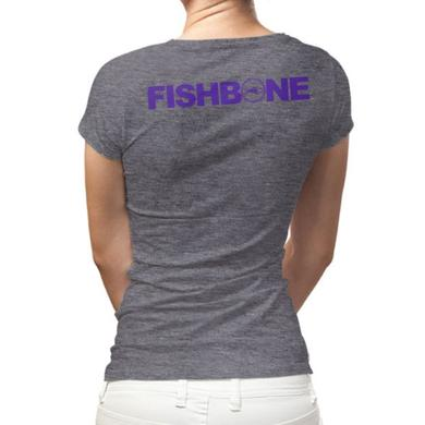 Fishbone Fuck Racism Ladies Tee